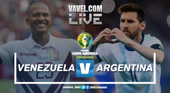 Resumen: Venezuela vs Argentina por la Copa América 2019 (0-2)