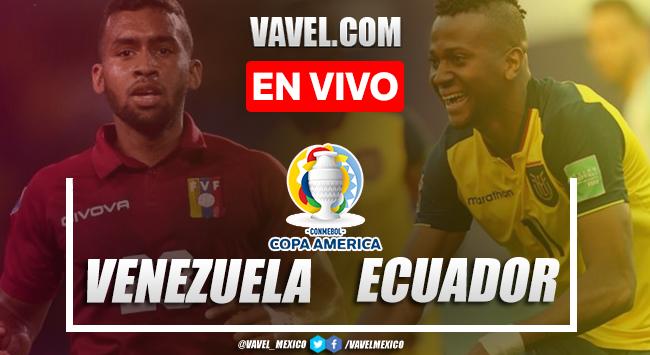 Goles y resumen del Venezuela 2-2 Ecuador en Copa América