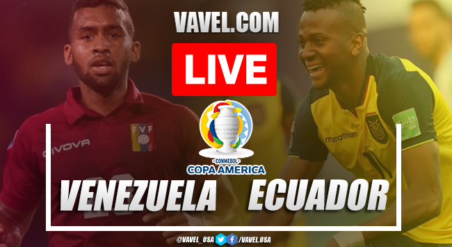 Goals and Highlights Venezuela 2-2 Ecuador in Copa America 2020