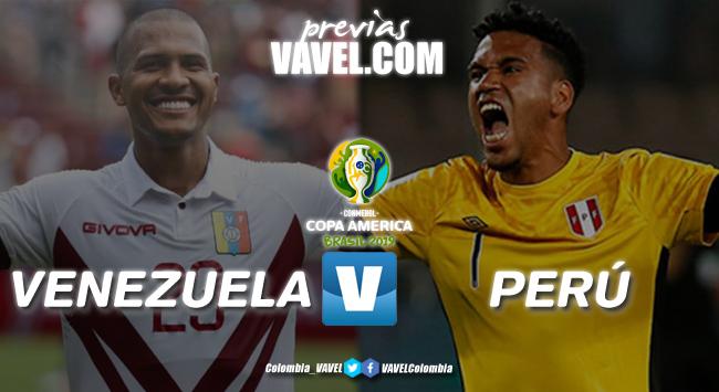 Previa: Venezuela vs Perú: duelo clave entre Dudamel y Gareca