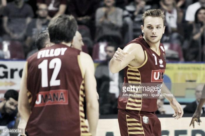 Basket, serie A: insidia Brindisi per Milano, Reggio Emilia di lunedì