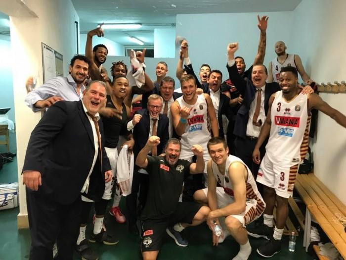 Basket, playoff scudetto La Reyer Venezia conquista la finale