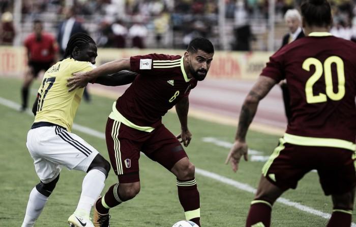 Qualificazioni Russia 2018 - La Colombia si arresta in Venezuela (0-0)