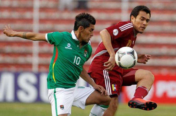 Resultado Bolivia - Venezuela 2014 (3-2)