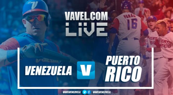 Resultado y vídeos Venezuela vs Puerto Rico por Clásico Mundial Béisbol (2-13)