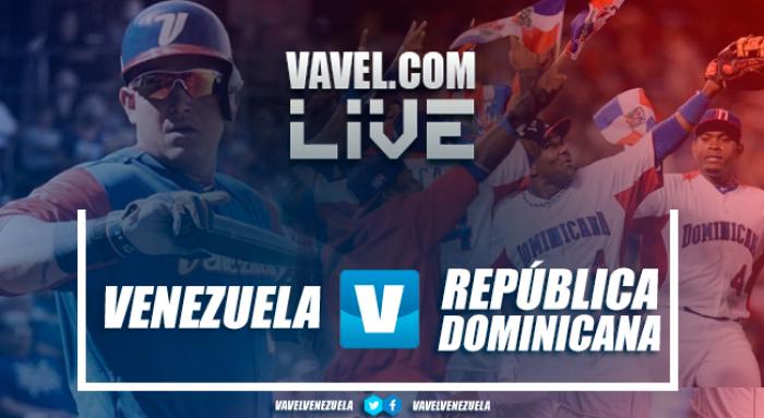 Venezuela vs República Dominicana EN VIVO hoy por Clásico Mundial Béisbol
