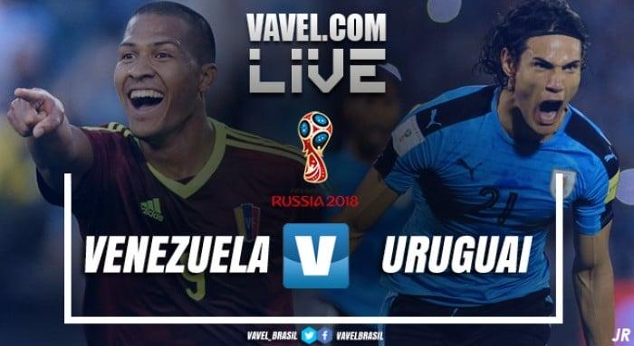 Venezuela e Uruguai empatam pelas Eliminatórias da Copa de 2018 (0-0)