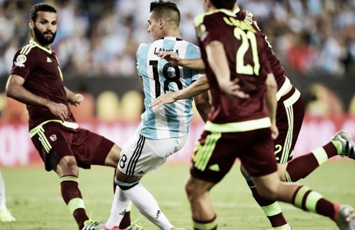 Sem Messi, Argentina mede forças contra Venezuela para se manter na liderança das Eliminatórias