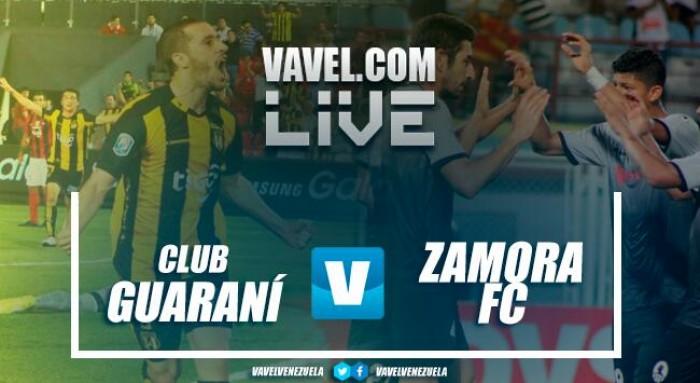 Resumen Club Guaraní 2-1 Zamora por Conmebol Libertadores
