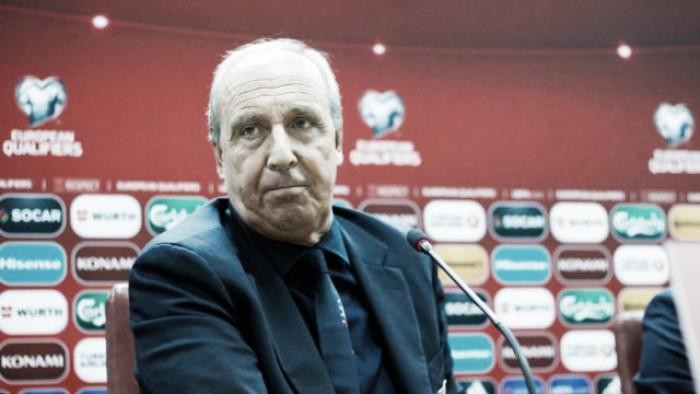 """Albania-Italia 0-1, Ventura: """"Contento per i giocatori"""""""