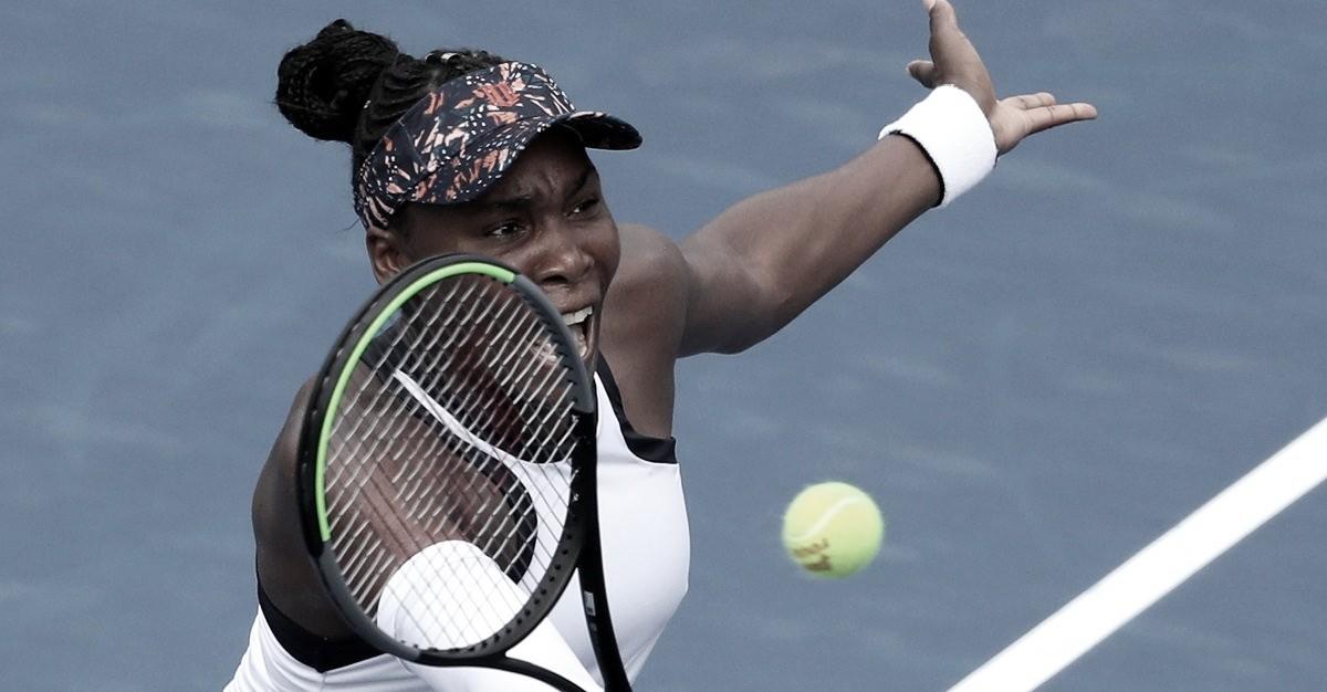 Venus elimina atual campeã Bertens na segunda rodada em Cincinnati