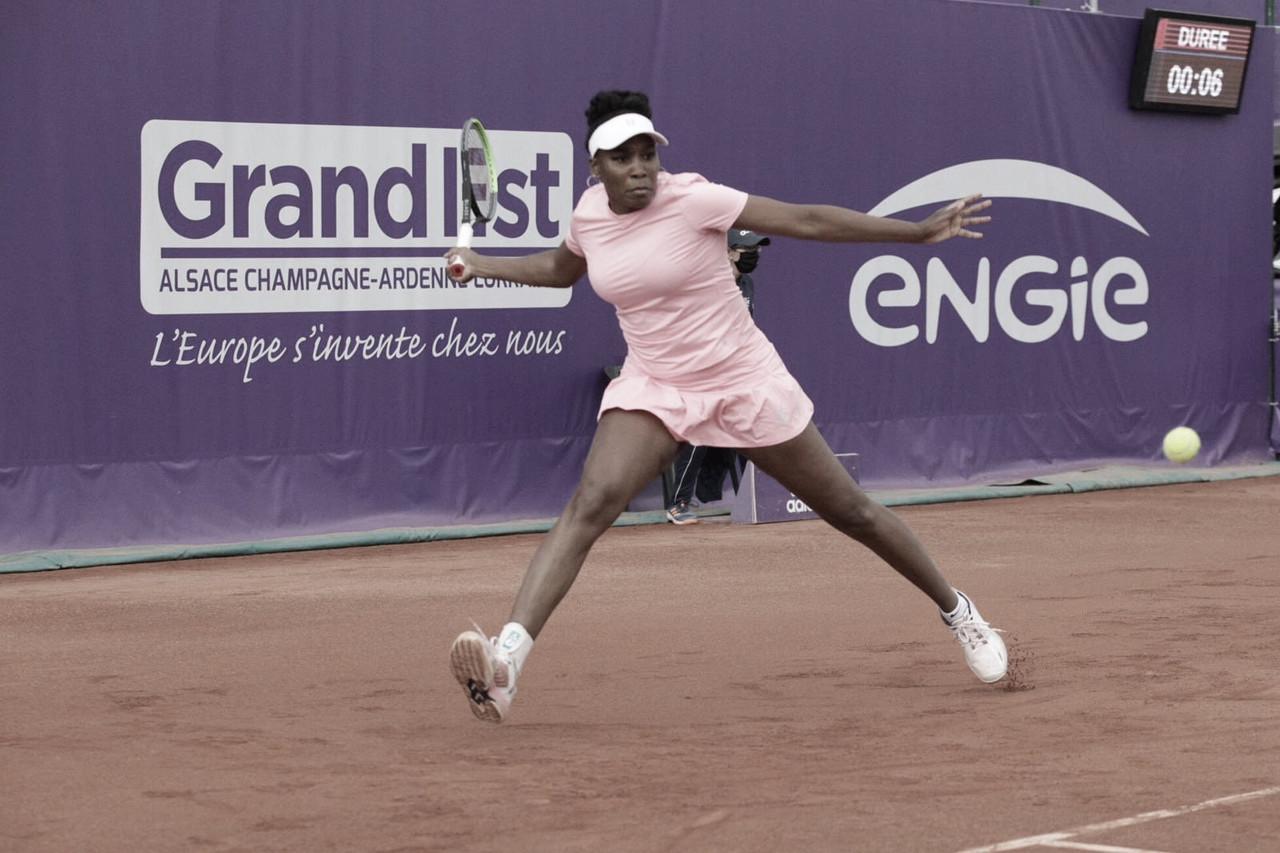 Venus perde a quinta consecutiva e é eliminada por Cirstea no WTA 250 de Strasbourg