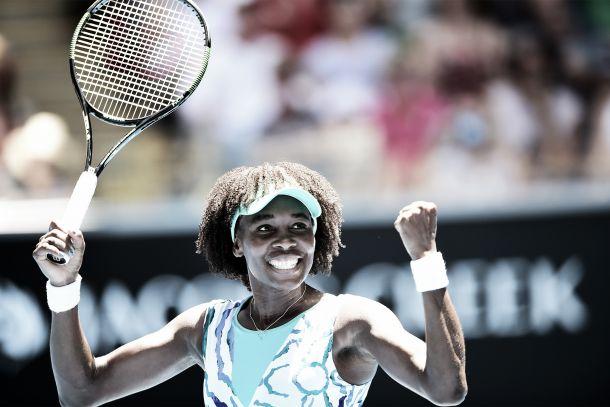 Venus Williams regresa por la puerta grande a los Octavos de Final