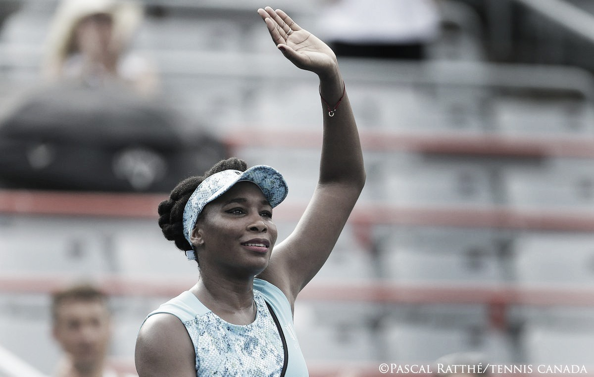 Venus Williams supera Cirstea em duelo de finalistas da Coupe Rogers