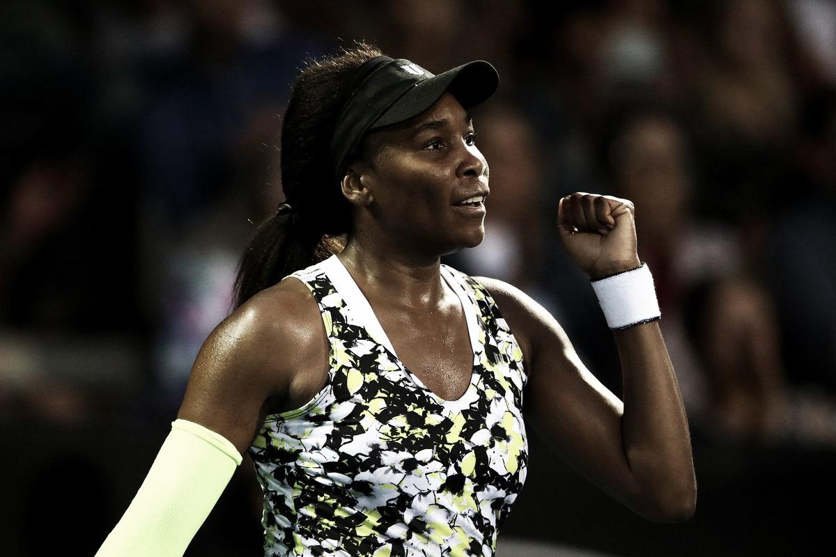 Venus Williams domina Davis e segue às quartas de final em Auckland