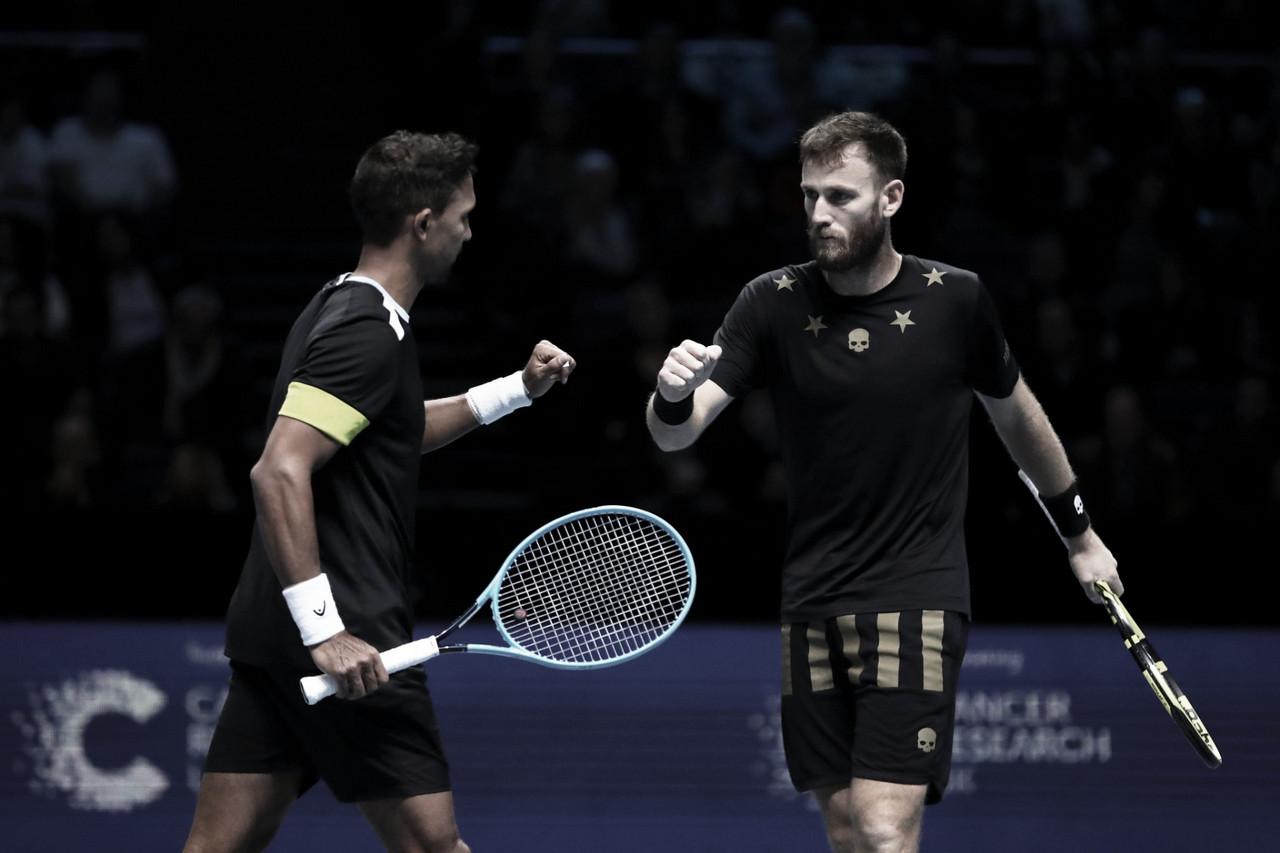 Kubot/Melo perdem para Klaasen/Venus e correm risco no ATP Finals