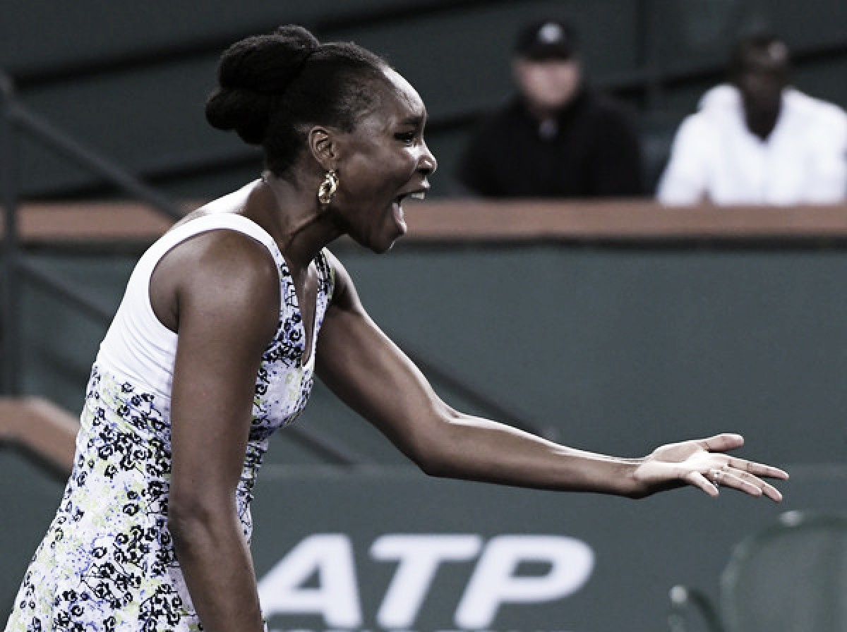 WTA Indian Wells: Venus Williams ousts Serena Williams in 29th all-Williams affair
