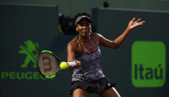 WTA - Miami Open 2017, Venus Williams batte Angelique Kerber