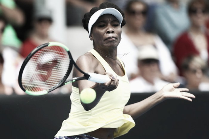 WTA Auckland: Venus Williams gets first win of 2017