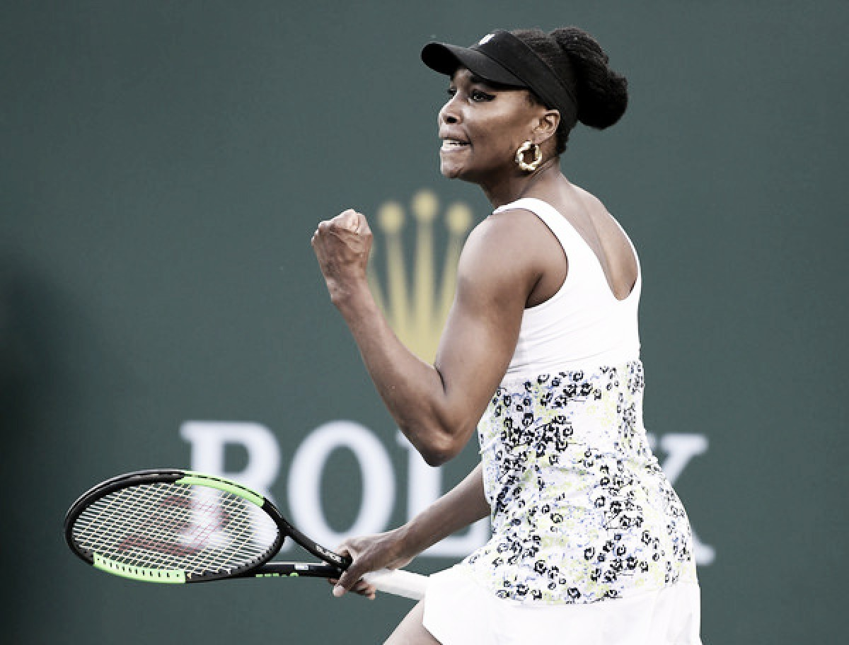 WTA Indian Wells: Venus Williams eases past Carla Suarez Navarro