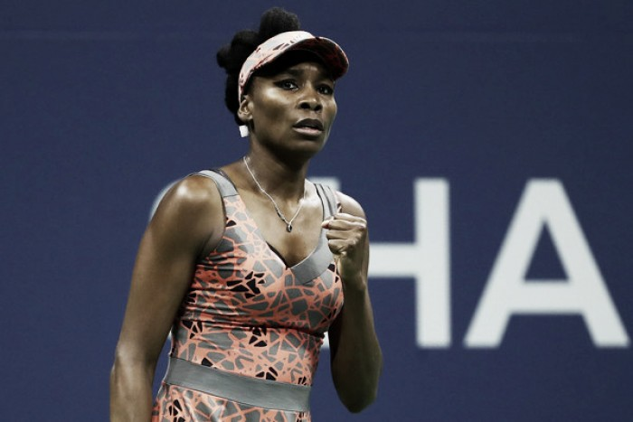 US Open: Venus Williams serves her way into the third round