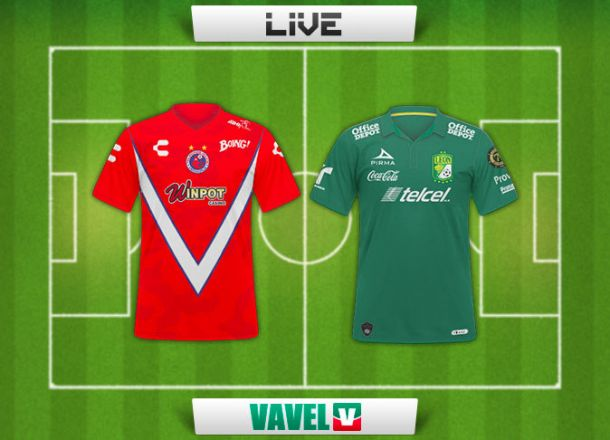 Resultado partido Veracruz - León en Liga MX 2015 (1-0)