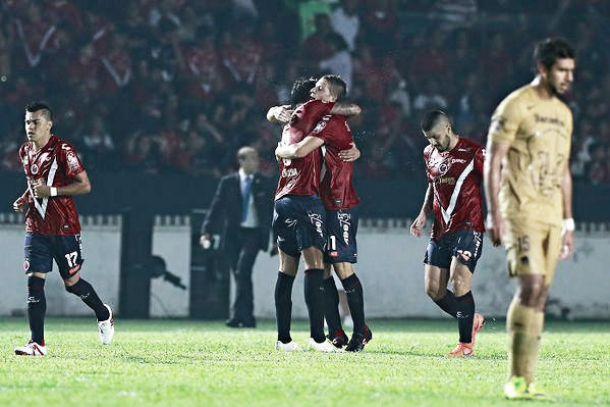 Vibrante empate entre Veracruz y Pumas en el Puerto