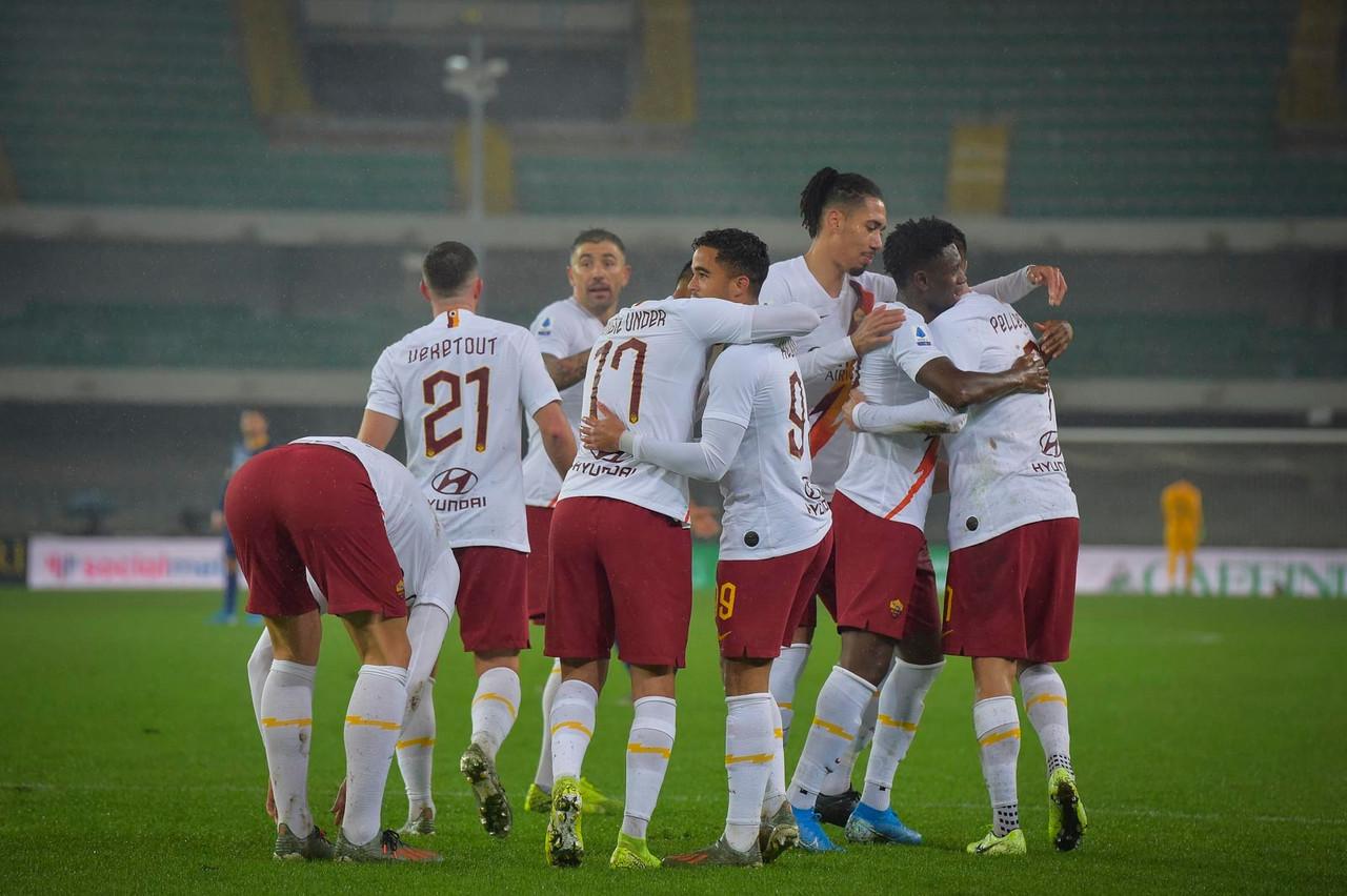 Serie A - Altro tris giallorosso: la Roma batte 1-3 un buon Verona