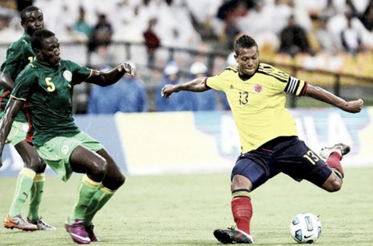 Colombia ganó a los senegaleses en el último partido entre ambas selecciones