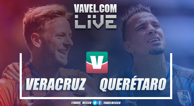 Resultado y goles del Veracruz 2 - 2 Querétaro en Liga MX 2018