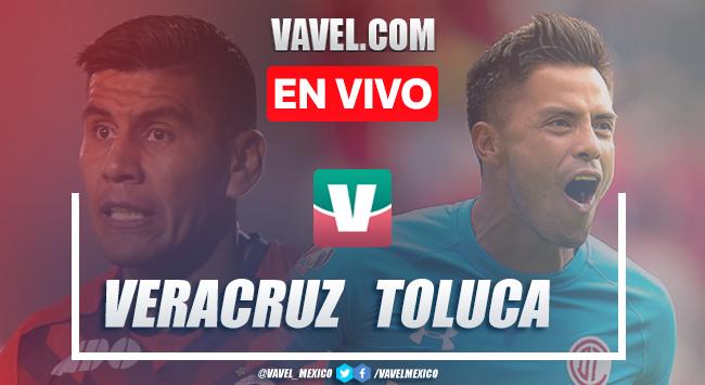 Resumen y goles: Veracruz 1-1 Toluca en Liga MX Apertura 2019