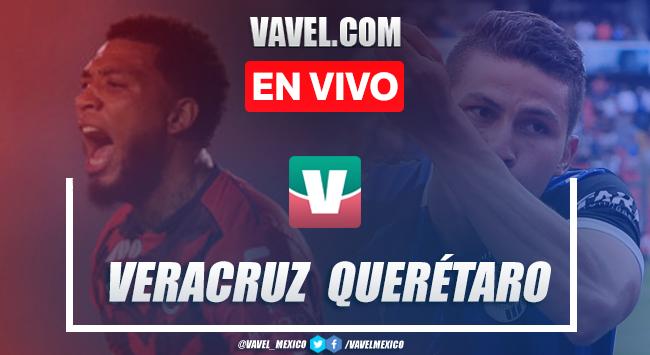 Resumen y video goles Veracruz 0-5 Querétaro en Apertura 2019