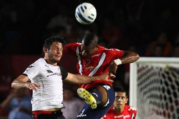 Justo empate entre Veracruz y Atlas