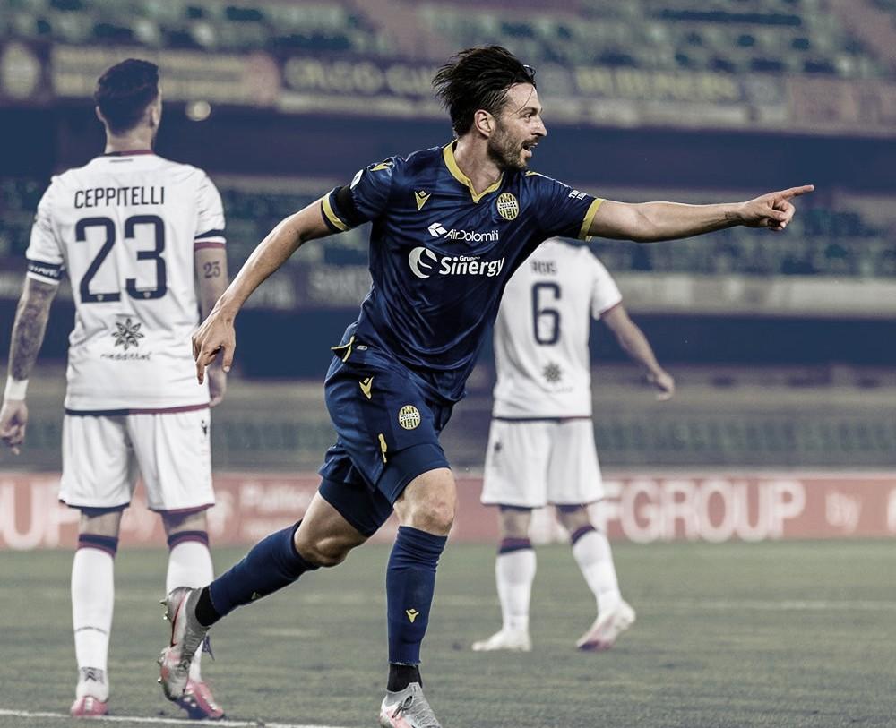 Em jogo com duas expulsões, Hellas Verona vence e amplia jejum do Cagliari