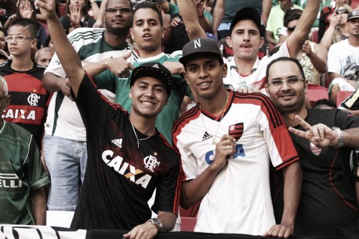 Torcida dividida, confusão e vitória do Palmeiras marcam duelo contra Flamengo no primeiro turno