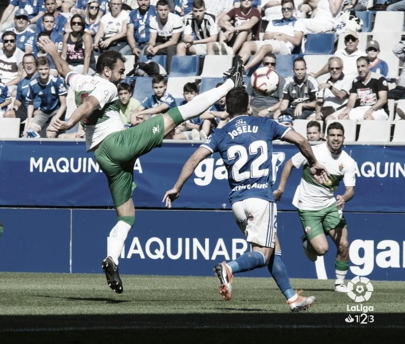 Oviedo - Elche la temporada pasada | Fuente: La Liga 123