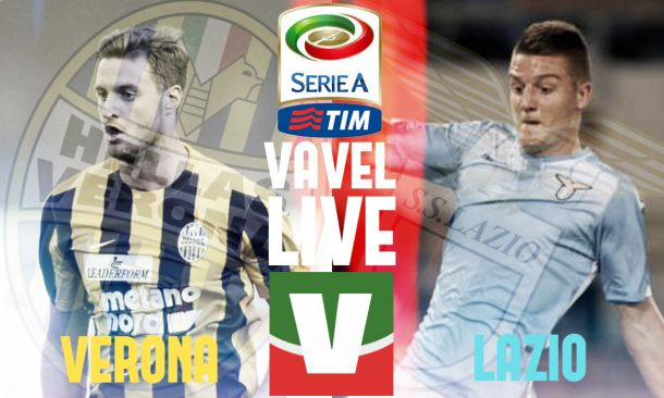 Live Hellas Verona - Lazio, risultato partita Serie A 2015/2016  (1-2)