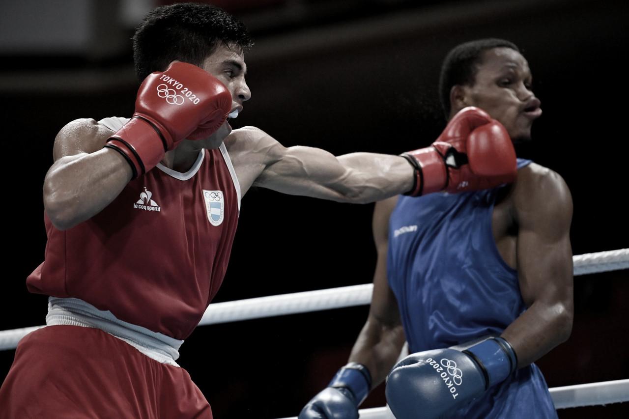 Boxeo: Francisco Verón quedó eliminado en una reñida pelea