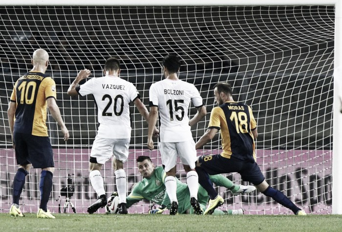LIVE Hellas Verona - Palermo in Serie A 2015/16 (0-1)