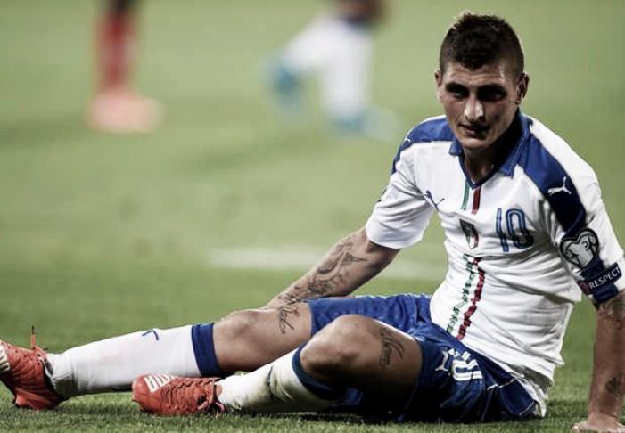Verratti se junta a Marchisio e vira mais um desfalque da Itália para Eurocopa