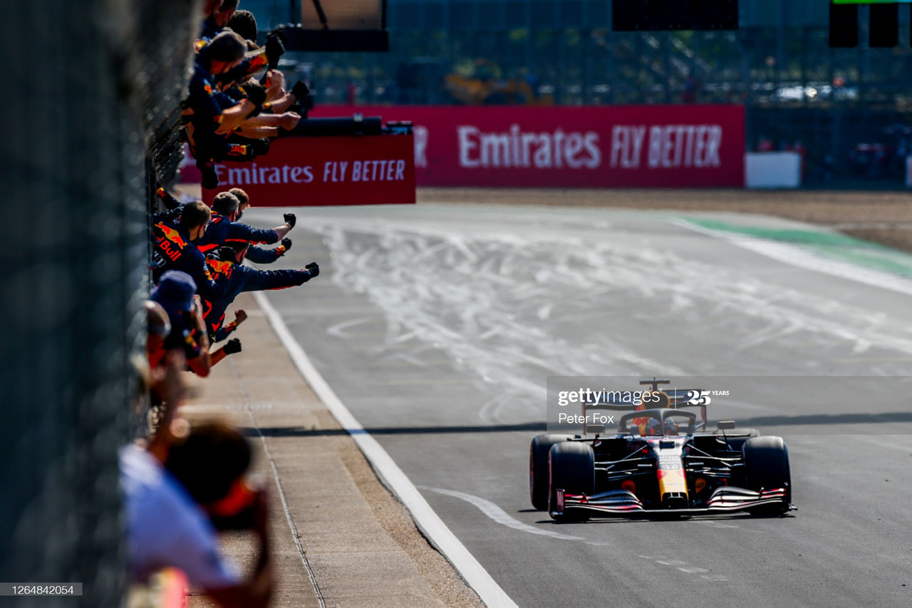 70th Anniversary GP Race Report - Verstappen takes win as Mercedes struggle with tyres