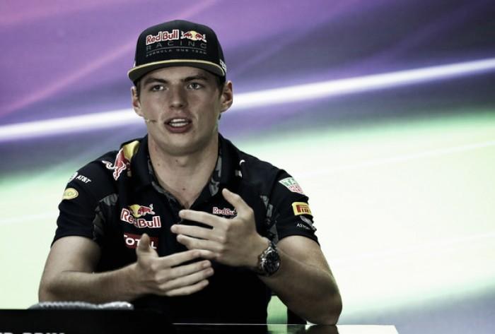 """Max Verstappen: """"Solo trato de hacerlo lo mejor posible dentro de la pista"""""""