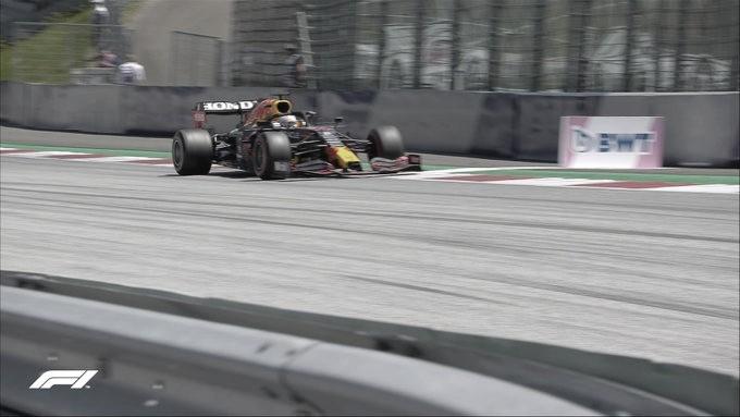 Verstappen se pone al frente de la FP3 del GP de Austria