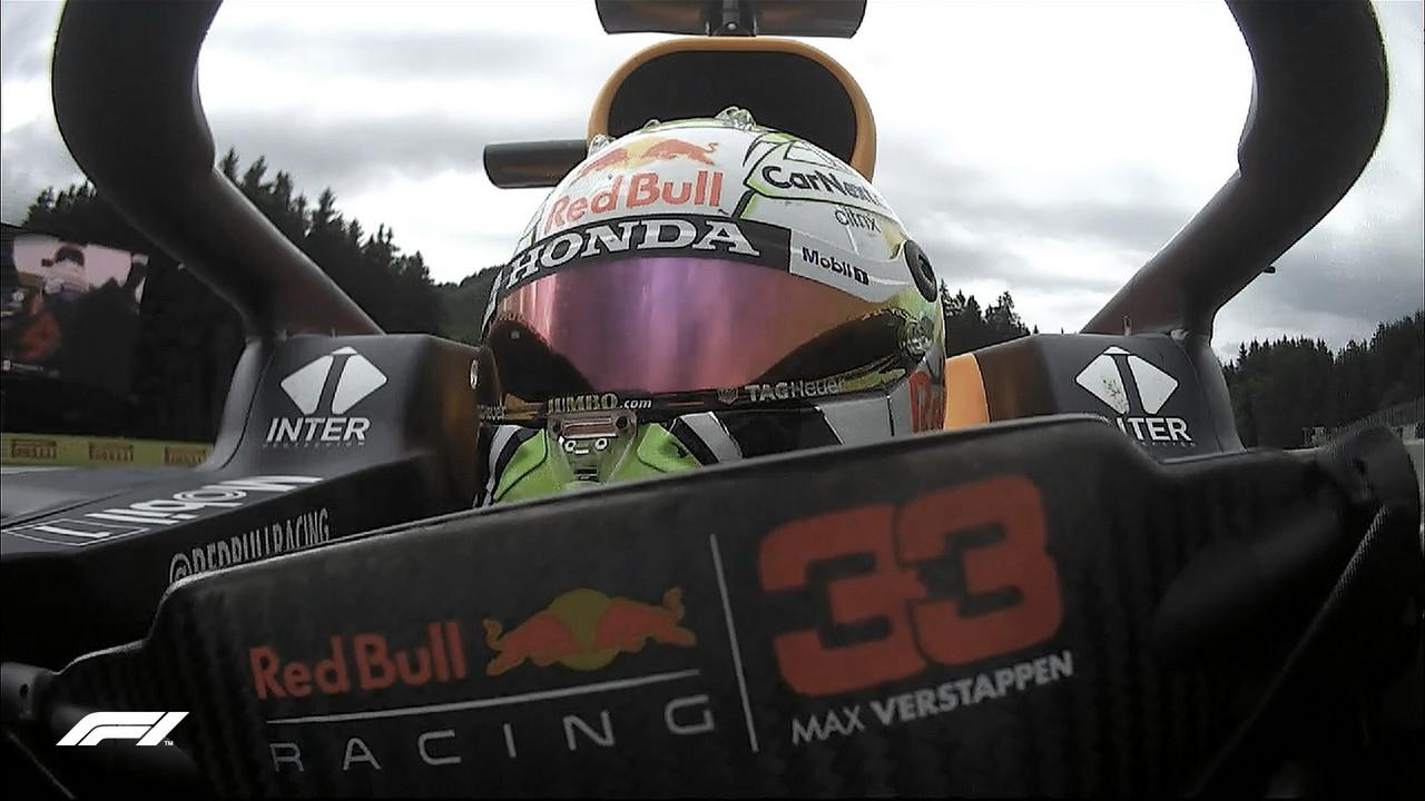 Max Verstappen lidera en los libres 2 del GP de Estiria