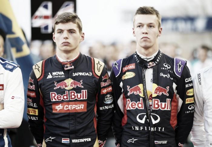 Red Bull anuncia substituição de Daniil Kvyat por Max Verstappen a partir do GP da Espanha