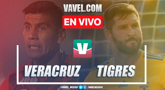 Veracruz vs Tigres en vivo cómo ver transmisión TV online en Liga MX 2019 (0-0)