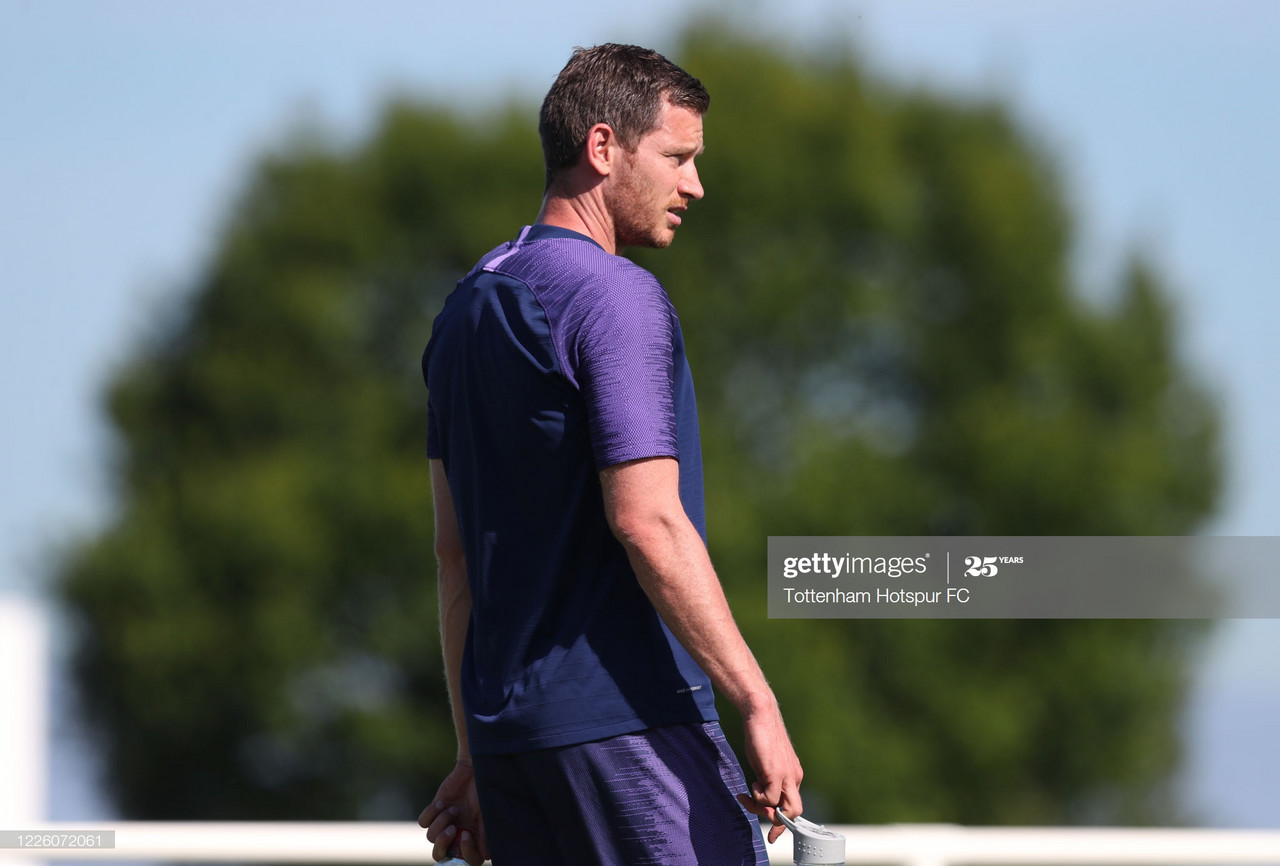 Tottenham end contract negotiations with Jan Vertonghen