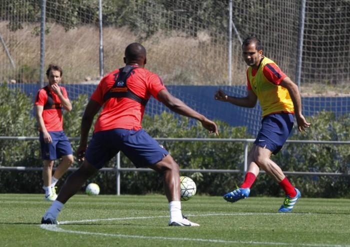 El Levante comienza a preparar el partido ante el Atlético de Madrid
