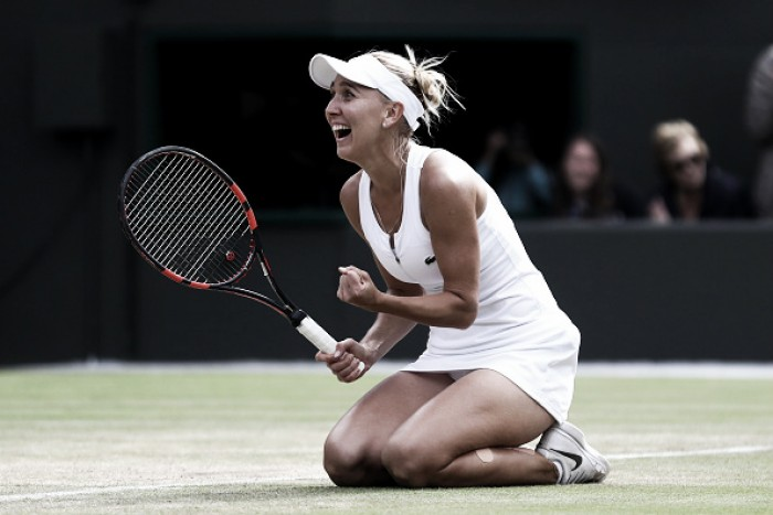 Wimbledon 2016: Vesnina dominates weary Cibulkova to reach first slam semi-final