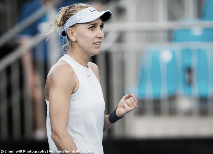 WTA Sydney: Elena Vesnina strolls past Lara Arruabarrena in her first match of 2018